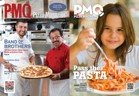 PMQ Pizza Mag, before and after