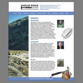 solid rock lectures website