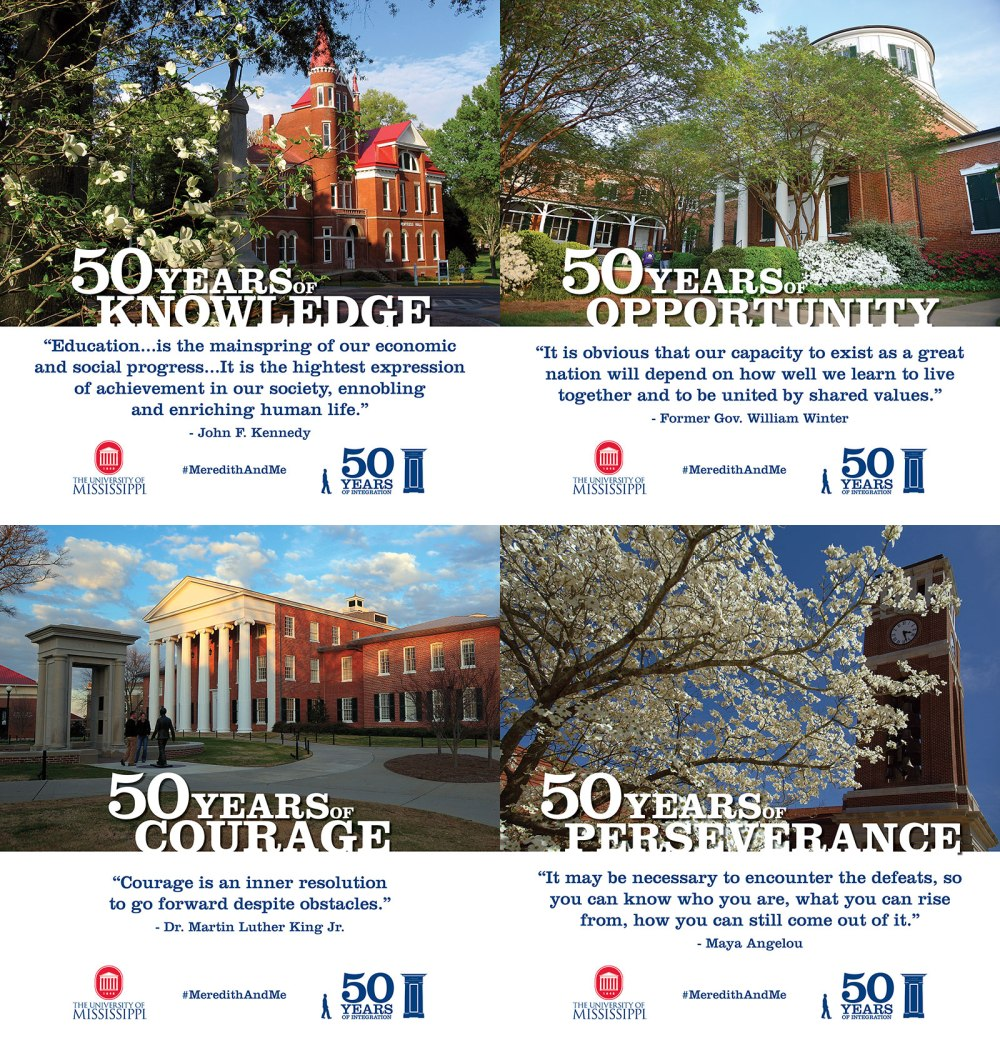 Ole Miss - 50 Years campaign