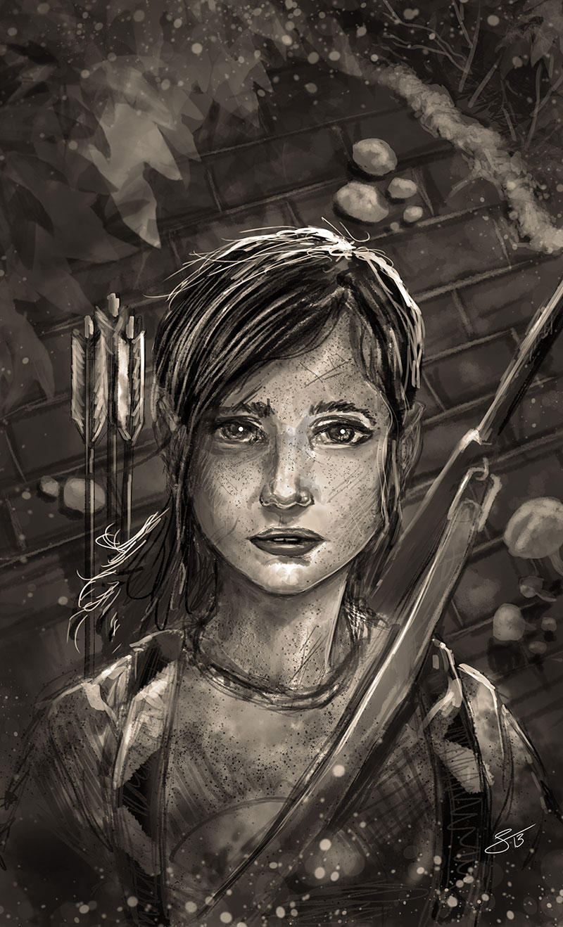 Ellie from Last of Us
