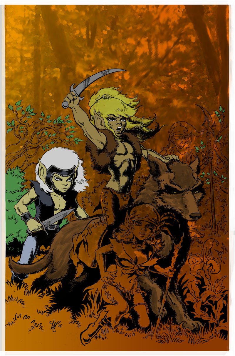 ElfQuest Fantasy Quarterly 1