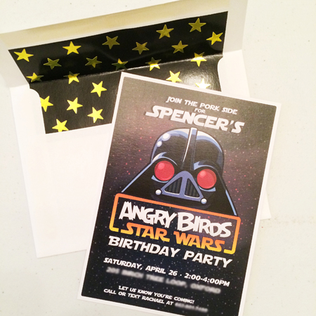 Angry Birds Star Wars Birthday Party | fromnorthtosouthblog.com