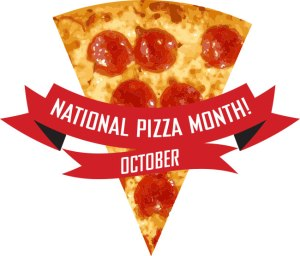 National Pizza Month logo